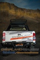 REAR BUMPER K2 NEXT TRAIL for Toyota Hilux Vigo