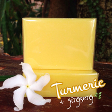 Turmeric and Ginseng Soap 100g.