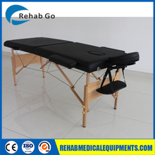 Height Adjustable Wooden Portable Folding Massage Table/Bed /Couch-AMC06