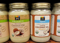 100% Organic Cold Pressed Extra Virgin Coconut Oil in 515ml. bottle