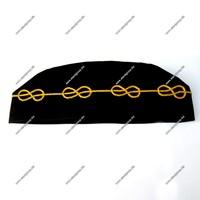Masonic Hat | Master Mason Hat (Cap) | Masonic Hat with Mylar Wire Chain