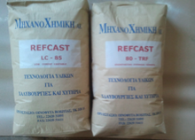 REFCAST LC - 85 REFRACTORY CASTABLE