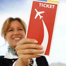 Air ticket booking, travel air ticket, business service