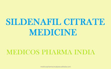 Sildenafil Citrate Medicine Powder Product from India