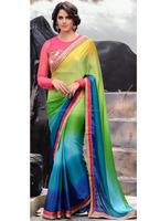 Dhaka sarees\fancy saree blouse designs\new style saree with blouse\lace saree