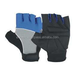 2014 new Gym belt fitness gloves semi-finger sports gloves weight lifting wrist support Men cross fit gloves
