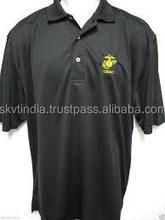 black super quality black beauty black polo t-shirts
