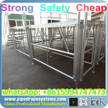 Folding stage cheap portable stage hotel amenity