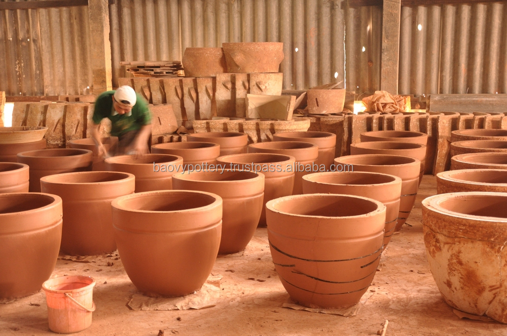 Viet nam ceramica fornitore rettangolare satinato esterno - Vasi ceramica esterno ...