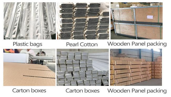 Package-aluminum tile trim