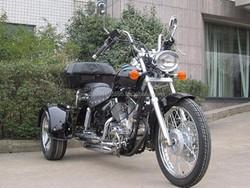Cheap Sales+ Free Shipping 250cc Trike Chopper Style 3 Wheels Motorcycle