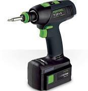 BUY 2 GET 1 FREE Festool 564524 Cordless Drill T18 Li 4.2 Ah Set