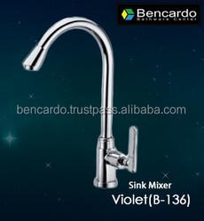 Faucet - Kitchen Faucet - Sink Faucet- Violet Series- Single Lever Basin Mixer - Bencardo - B-136