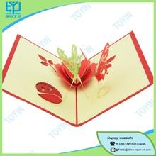 Beautiful birthday greeting chinese invitation festival invitation card