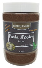 Healthy Choice peanut butter powder cacao with stevia extract