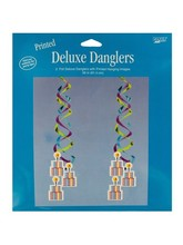2 count 36 inch printed deluxe danglers