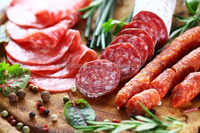 Red Natural Stable Food Color for meat and beverage (Carmine Substitute)