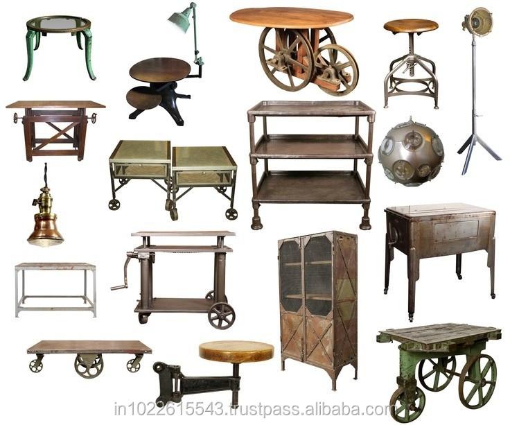 Mobili rio industrial exportador vintage mobili rio - Mobiliario vintage industrial ...