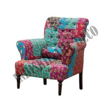 salon fauteuil floralesaccepter patchwork multi