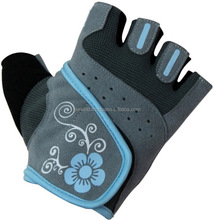 Half finger breathable weight lifting gloves with competitive price