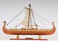 viking hechos a mano de madera maquetas de barcos