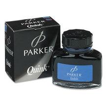 Super Quink Washable Ink for Parker Pens, 2 oz Bottle, Blue