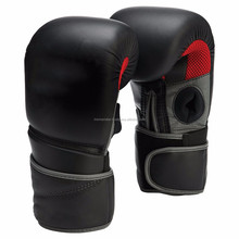 CUSTOM MADE BOXING GLOVES TWO TONE WHITE BLACK GREY 16 0Z FITNESS SPORTS EQUIPMENTS