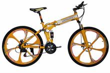 26inches gt bicycle disa brake folding mountain bike