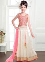Baby girls lehenga choli\excellent Jacqaurd lehenga choli\new designs traditional kids lehenga choli