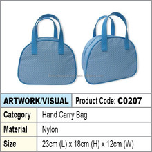 Nylon Hand Carry Bag (sky blue color)