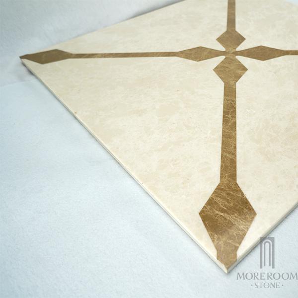 ML-A14S6060 Moreroom Stone Waterjet Artistic Inset Marble Panel-3.jpg