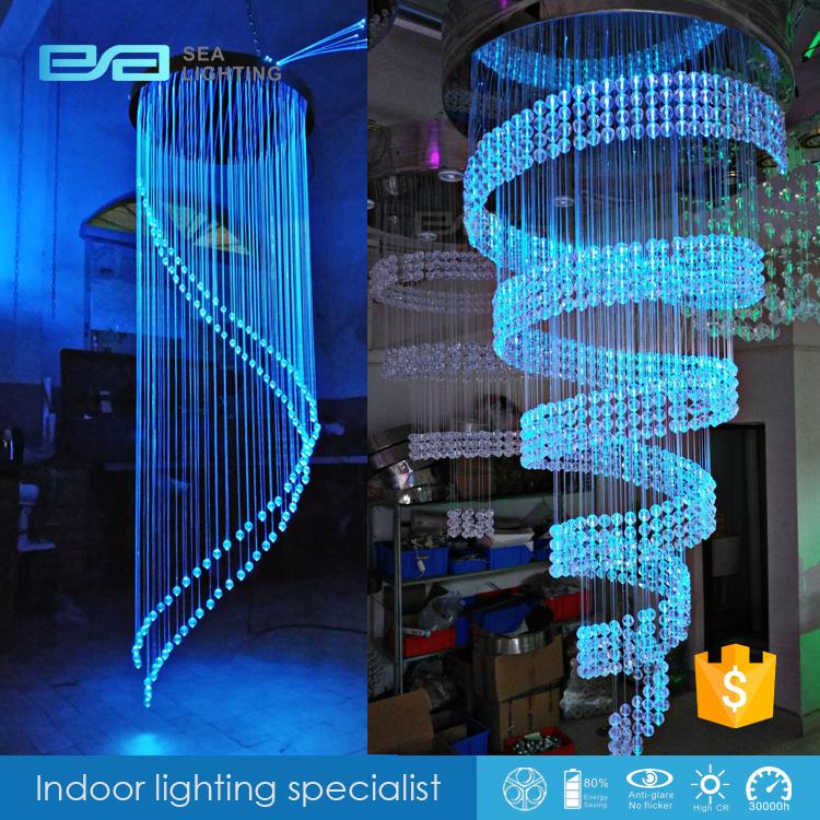 Clear Fiber Optic Light Led Optical Fiber Flower Lamp ...