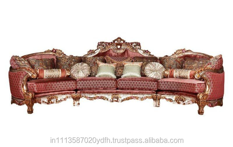 Antique Wooden Sofa ~ Royal antique carved wooden sofa buy