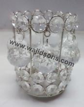 Table Top crystal votive High Quality Crystal Votive Candle Holders Wholesale cheap price