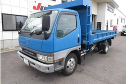 2002 Mitsubishi Canter 2 Tons Dump Truck YK22977/KK-FE63EEV/4M51 5200cc