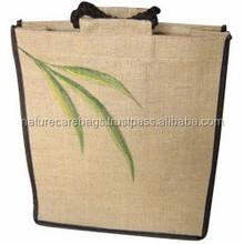 custom Size Jute Grocery Bag