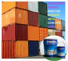 Chlorinated Rubber Paint Waterproof, Heat resistant for Exterior Metal, concrete and wood surfaces JIS Standard JONA CHLORRUB