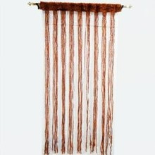 Decorative Orange Door Window Valance Curtain Drape Fringed Home Decor Wall Hanging India