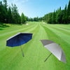 Durable and easy grip golf large umbrella for all weather