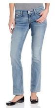Niñas se desvanecen jeans pant / bangladeshi fabricante / manufactura costo más bajo en ASIA / muestra gratuita