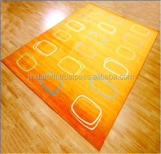 Indian knotted pile acrylic carpets.jpg