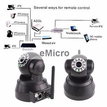 WIFI Wireless Wired IP CCTV Camera HD Vision Night Vision with SD Card