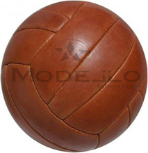 Retro Leather Soccer Ball