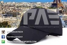 Promotional Long Peak Baseball Sport 100% Cotton Cap And Hat