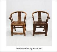 Traditional Ming Arm Chair