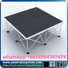 Plexiglas plancher, Fodable scène mobile