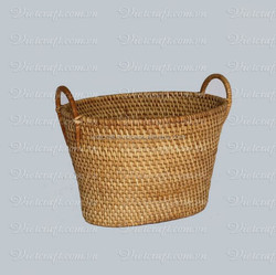 environmentally friendly wicker rattan basket bamboo folding fruit basket cheap rattan and bamboo basket for kitchen