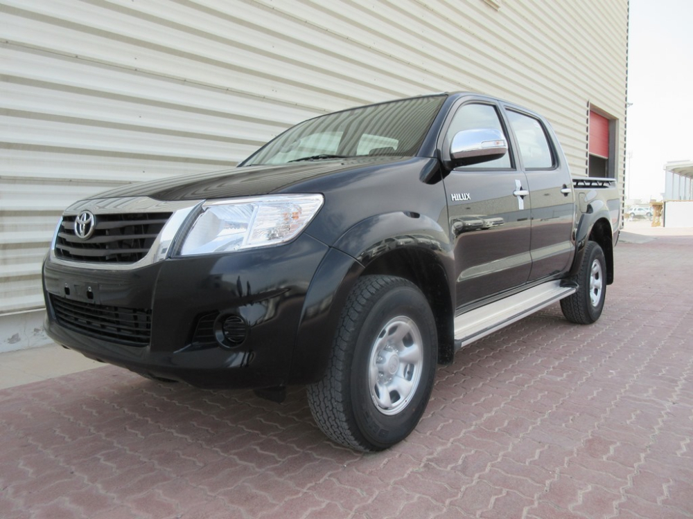 Toyota Hilux Black Double Cabin Buy Toyota Sale Hilux