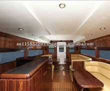 VIP transport boat for 5 star hotels and resorts - model SEA LOUNGE 40. Made in the UAE