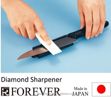 Diamond tool sharpener, sharpens ceramic and steel shears, scissors, knives, multipurpose, easy to use, made in Japan